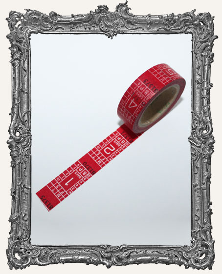 Washi Tape - Red Ticket