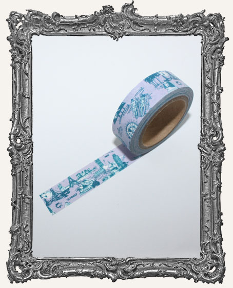Washi Tape - Vintage Travel