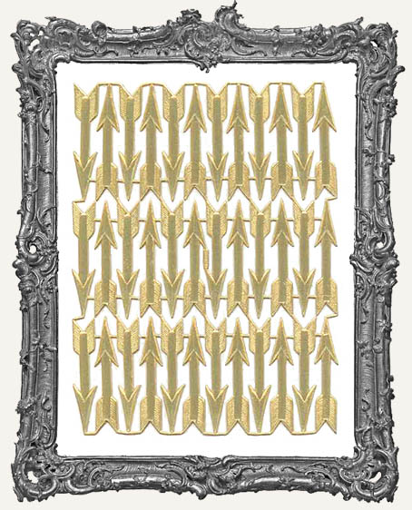 German Dresden Gold Arrows 36 Piece