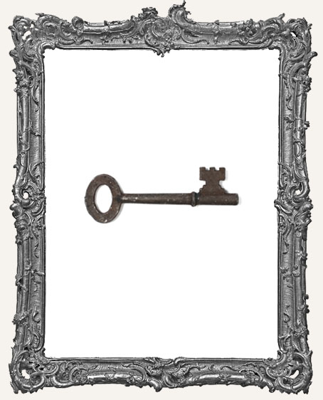 Large Rusty Look Skeleton Key - 1 Piece