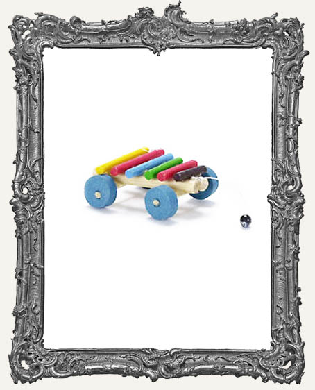 Miniature Xylophone Pull Toy
