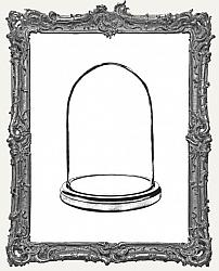 Cling Mounted Rubber Stamp - Glass Dome