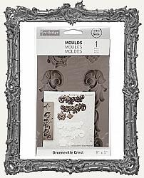 Prima Art Decor Mould - Groeneville Crest