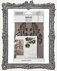 Prima Art Decor Mould - Lowell Lattice