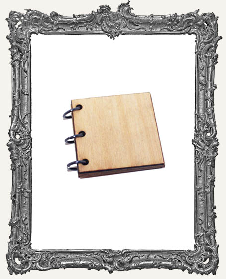 Wood Album Mini Book Kit - 2 Inch