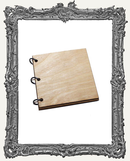 Wood Album Mini Book Kit - 3 Inch