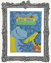 Young Artists - Classic Jurrasic Dinosaur Coloring Book