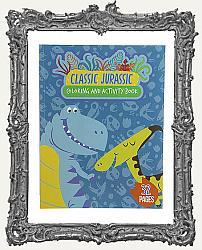 Young Artists - Classic Jurrasic Dinosaur Coloring Book
