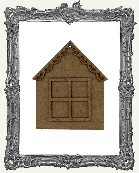 Charming Inchie Window House Ornament - Style 1