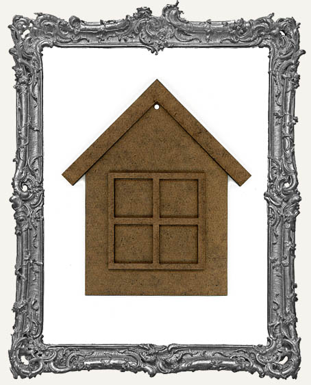 Charming Inchie Window House Ornament - Style 2