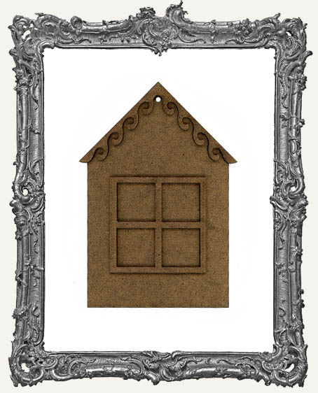 Charming Inchie Window House Ornament - Style 3