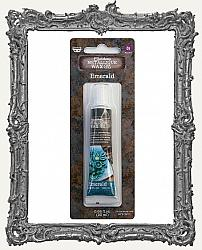 Finnabair - Art Alchemy Metallique Wax - Tube Packaging - Emerald