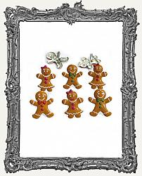Gingerbread People Brads - 12 Piece