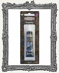 Finnabair - Art Alchemy Metallique Wax - Tube Packaging - Graphite