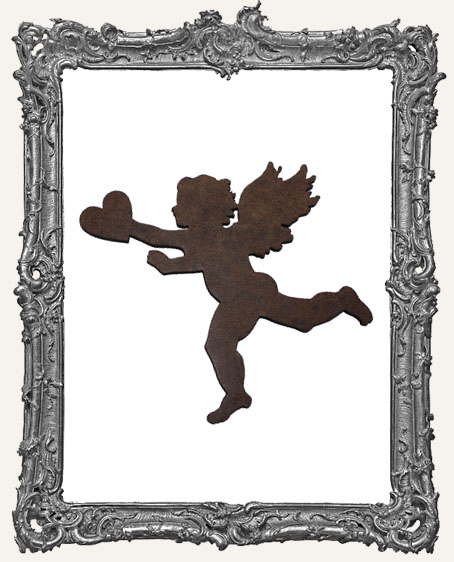 Masonite Cupid Ornament