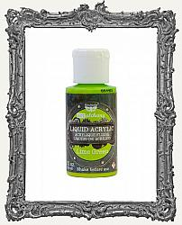 Finnabair - Art Alchemy - Liquid Acrylic Paint - Lime Green