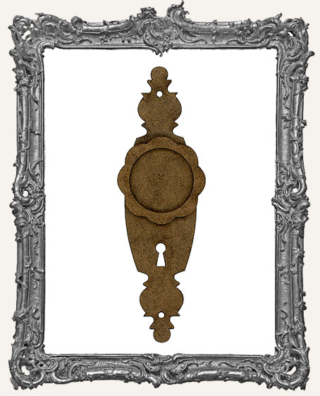 Escutcheon Door Plate Frame - Style 3
