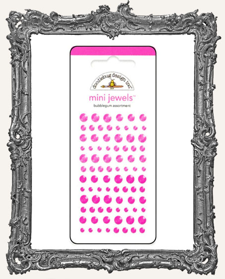 Doodlebug Assorted Jewel Stickers Mini Bubblegum