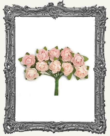 Mini Paper Blooms - Fairy Floss