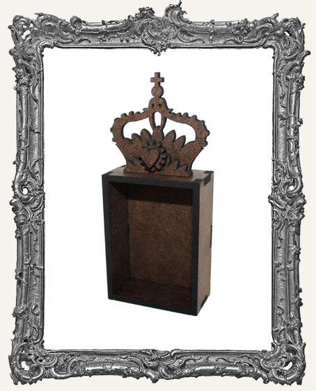 Mini Art Queen Crown Shrine Kit - Style 2