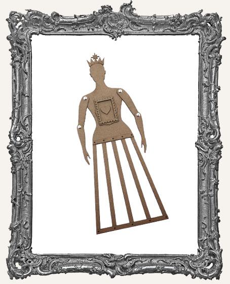 CHIPBOARD Articulated Santos Cage Doll Shrine Kit - MEDIUM