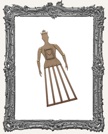 CHIPBOARD Articulated Santos Cage Doll Shrine Kit - SMALL