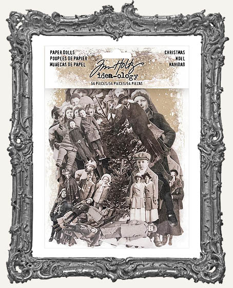 Tim Holtz - Idea-ology -  2017 Christmas Paper Dolls Die-Cuts