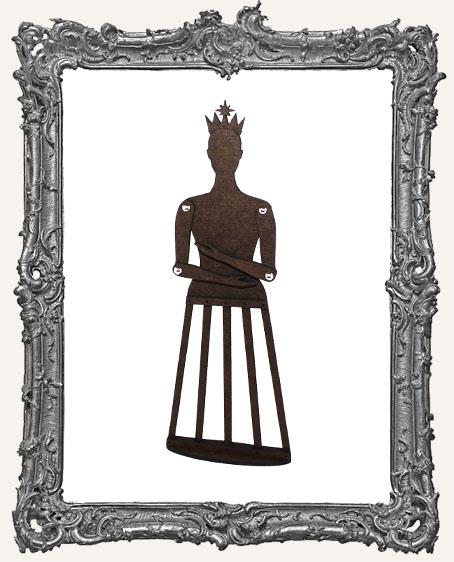 Articulated Santos Cage Doll Shrine Kit - MEDIUM
