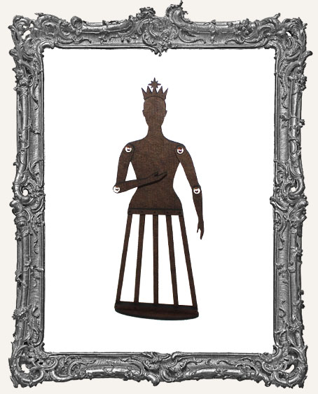 Articulated Santos Cage Doll Shrine Kit - SMALL