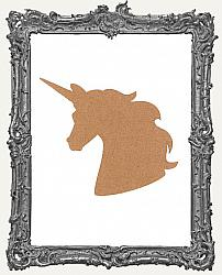 Unicorn Bust Cut-Outs - 5 Sizes