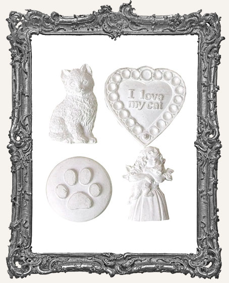 Shabby Vintage Reproduction Resin - Pretty Kitty