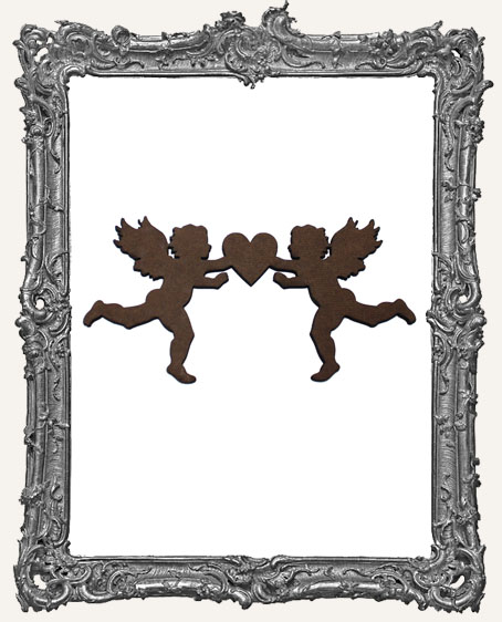 Double Cupid Ornament