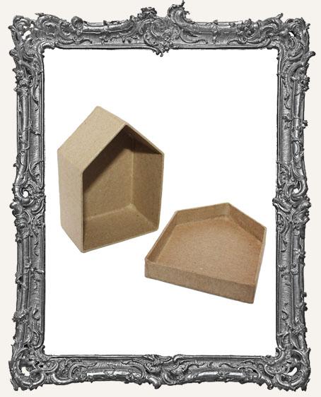 Paper Mache House Box