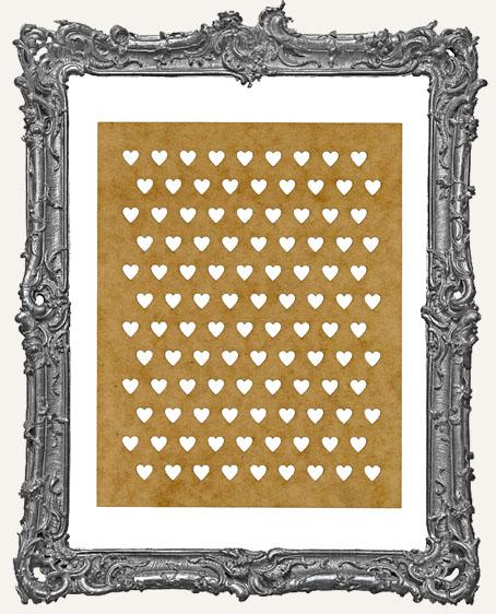 SMALL Mini Heart Stencil