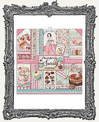 Stamperia Double-Sided Paper Pad 8X8 - Sweety