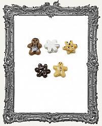 Miniature Christmas Cookie Assortment - 5 Pieces