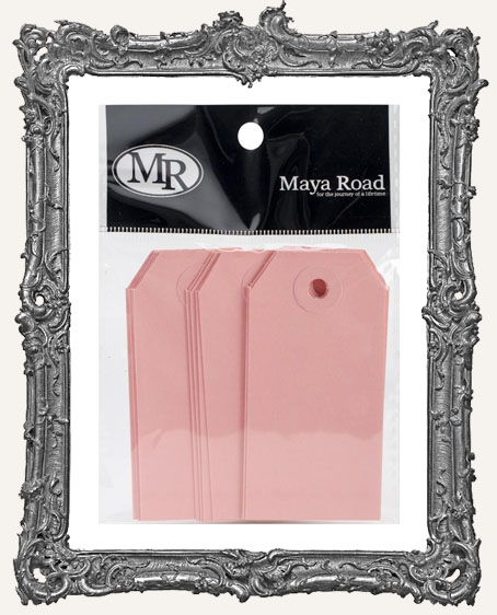 Pink Lace Shipping Tags - Pack of 12