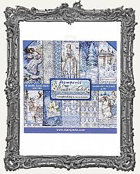Stamperia Double-Sided Paper Pad 8X8 - Winter Tales