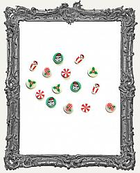 Miniature Christmas Resin Candies - 15 Pieces
