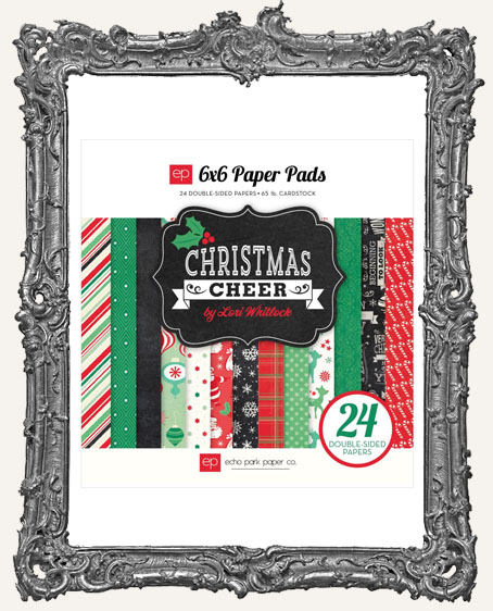 6X6 Echo Park Paper Pad Christmas Cheer