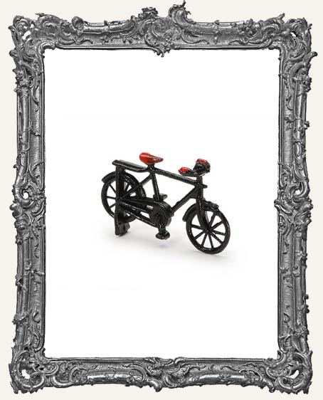 Mini Black Metal Bicycle