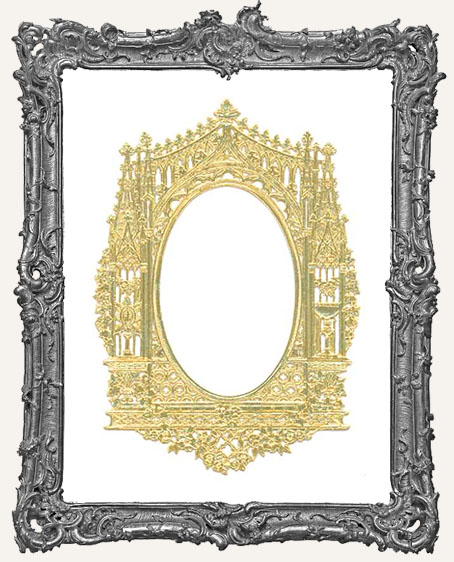 German Dresden GOLD Gothic Frame - 1 Piece