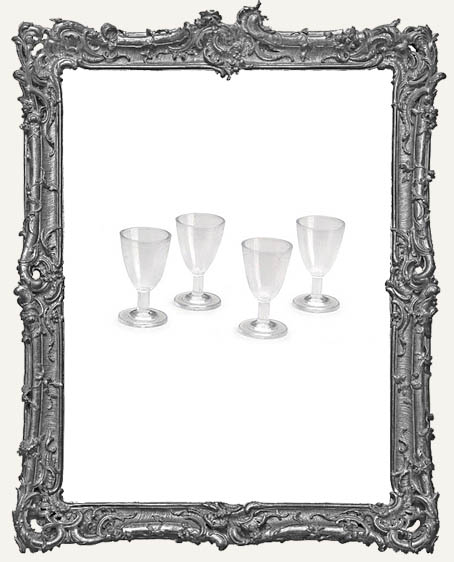 Miniature - Wine Glasses - 4 pieces