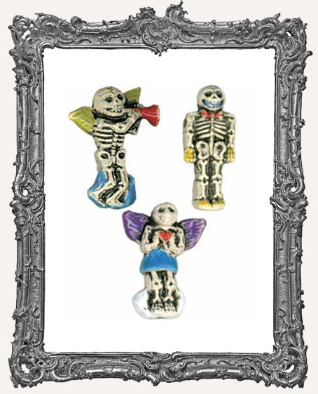 Day of the Dead Skeleton Bead