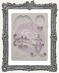 Finnabair Prima Art Decor Mould - Anabelle