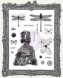 Finnabair Cling Mount Stamp Set - Dare To Dream