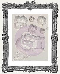 Finnabair Prima Art Decor Mould - Flower Queen