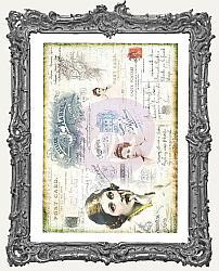 Finnabair Tissue Paper - Carte Postale