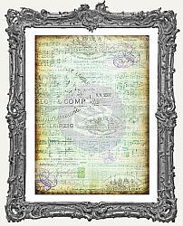 Finnabair Tissue Paper - Musica