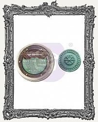 Finnabair - Art Alchemy - Antique Brilliance Wax - Mint Sparkle - Tube Packaging
